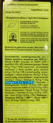 Huile De Colza Bio 500ml - Ingredients - fr