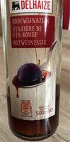 Vinaigre de vin rouge - Product - fr