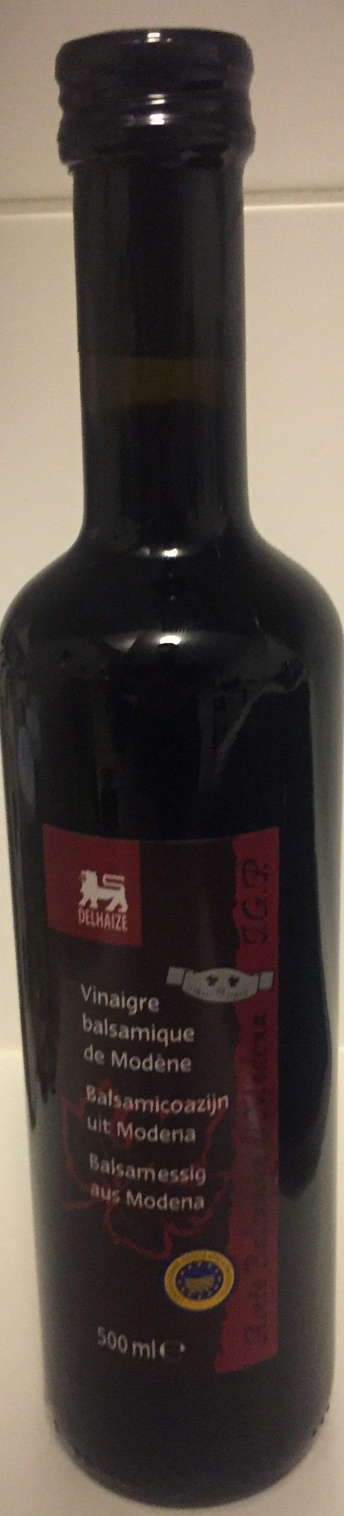 Vinaigre balsamique de mod ne delhaize 500 ml - Vinaigre balsamique calorie ...