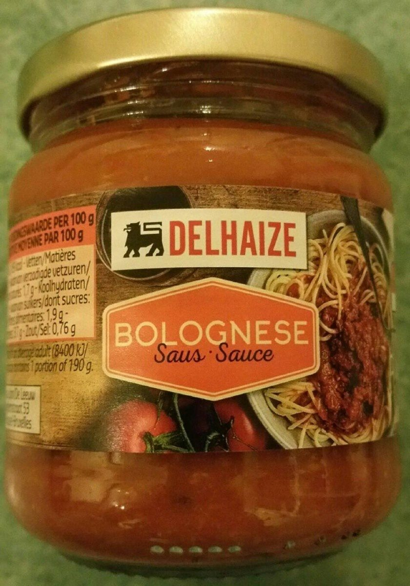 Bolognese Sauce - Product