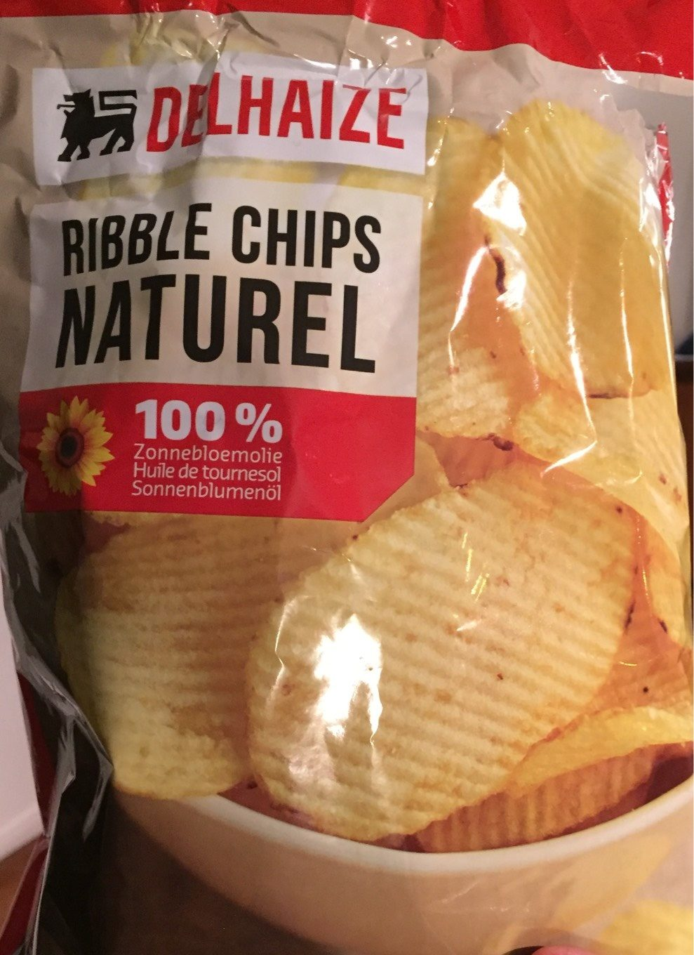 Ribble Chips Naturel - Product - fr