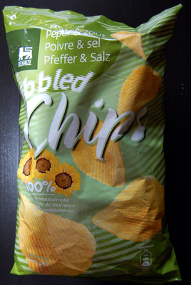 Ribbled chips poivre et sel - Product