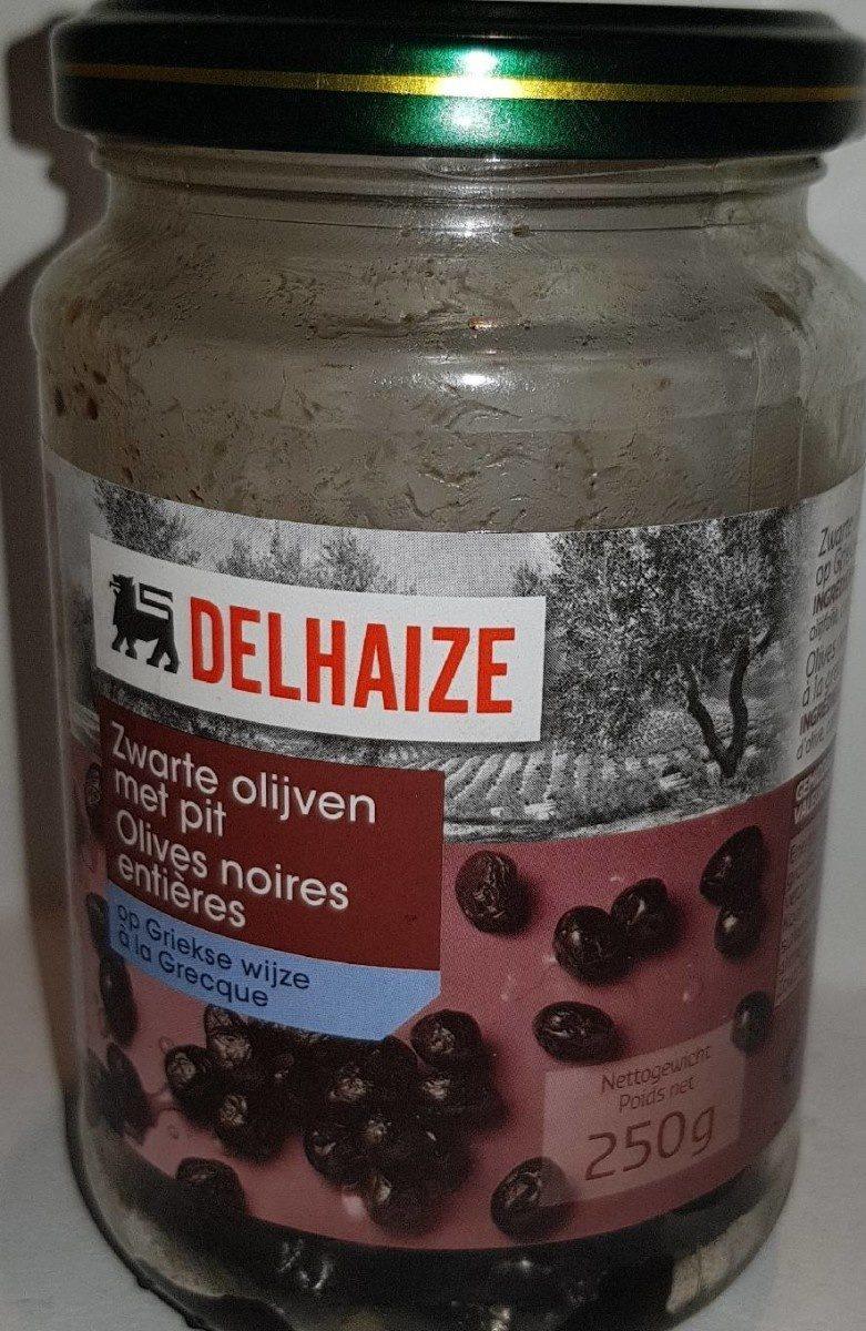 Olives noires entières - Product - fr