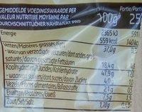 Croutons sir - Voedingswaarden