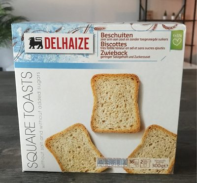 Biscote faible en sel - Product