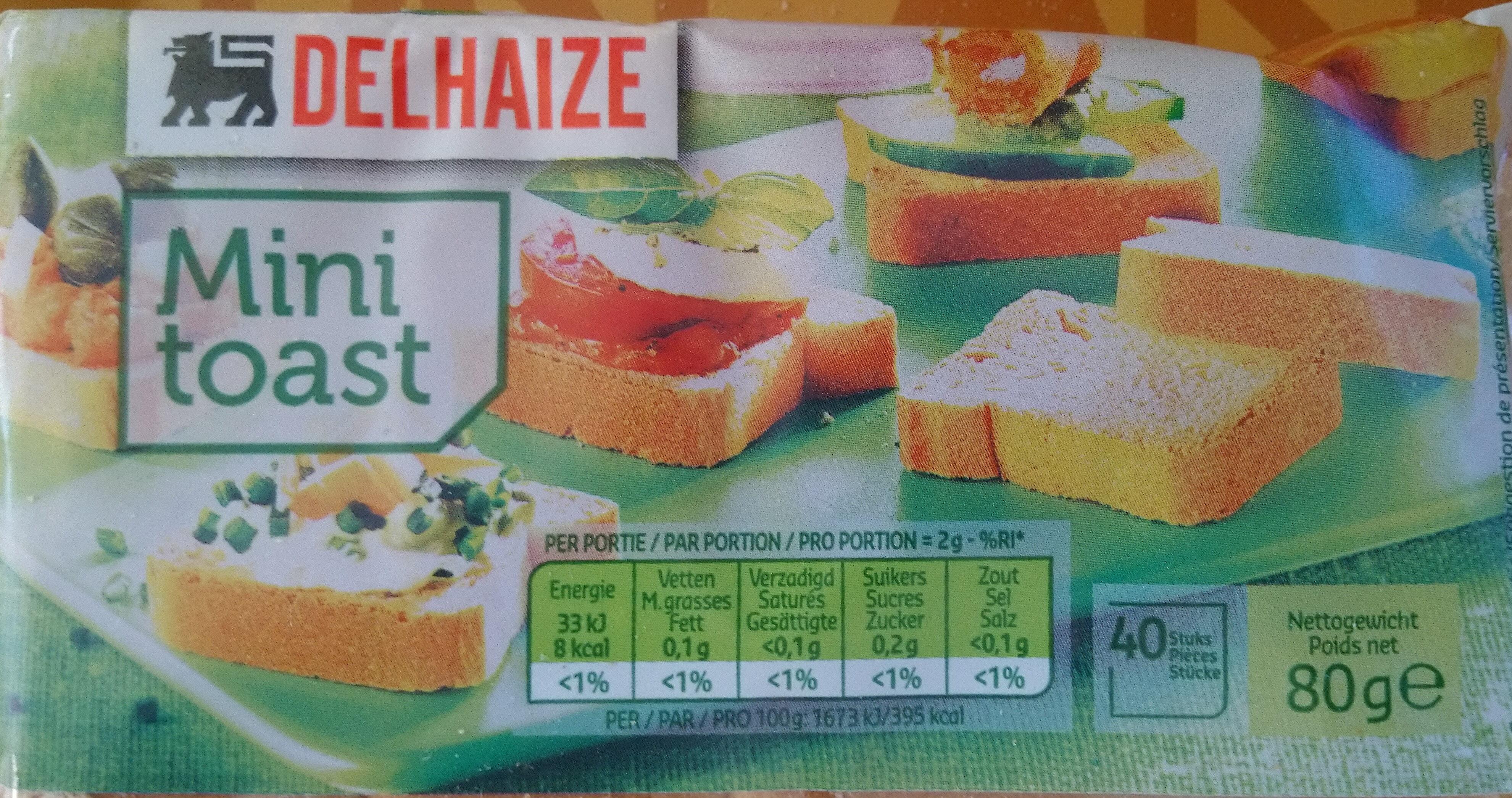 Mini toast - Product - fr