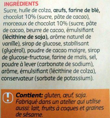 Brownies - Ingrediënten - fr