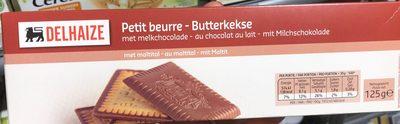 Petit beurre au chocolat au lait - Produit - fr