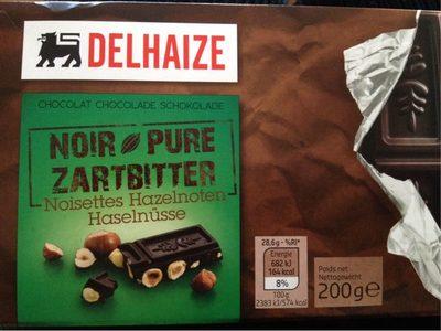 Chocolat Noir Noisettes - Product - fr