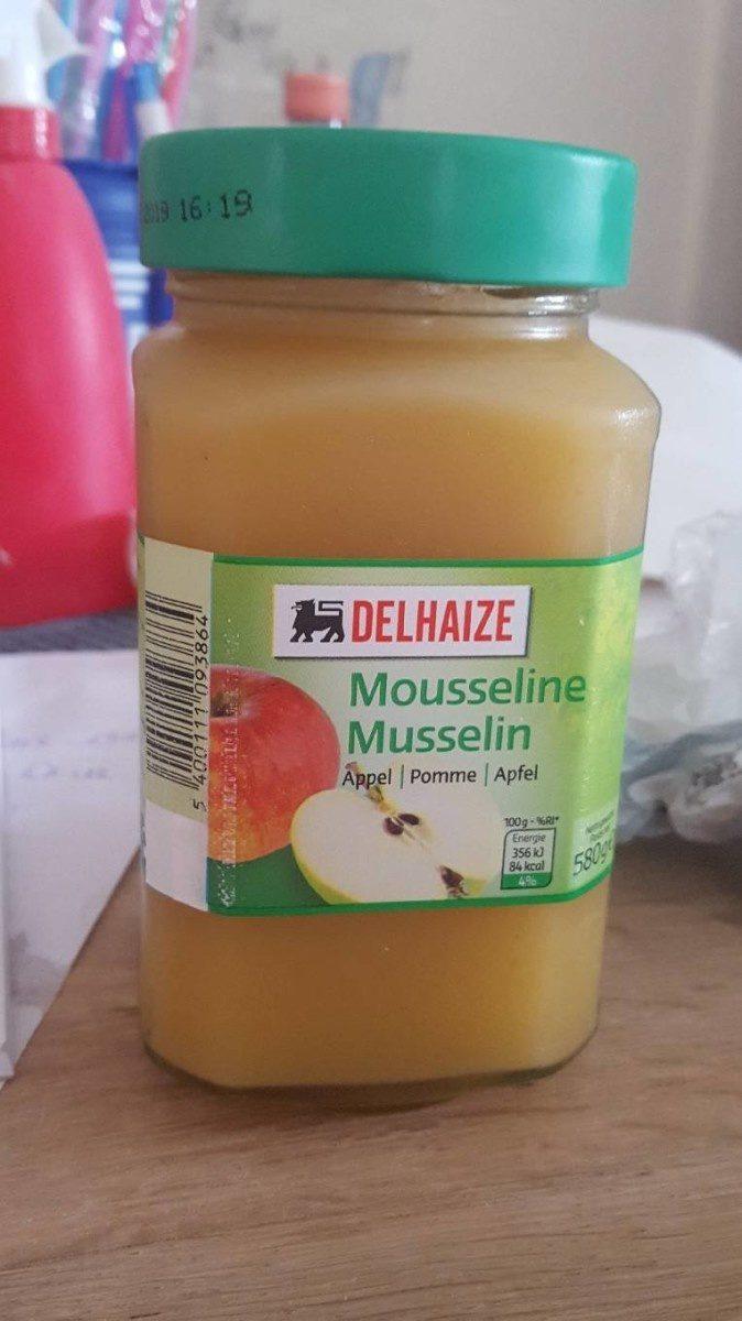 Compote pommes mousseline - Product - fr