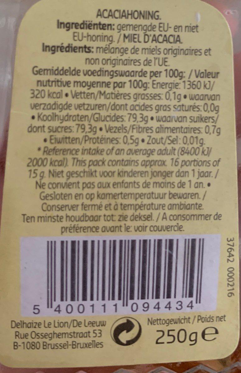 Miel acacia - Ingrédients - fr