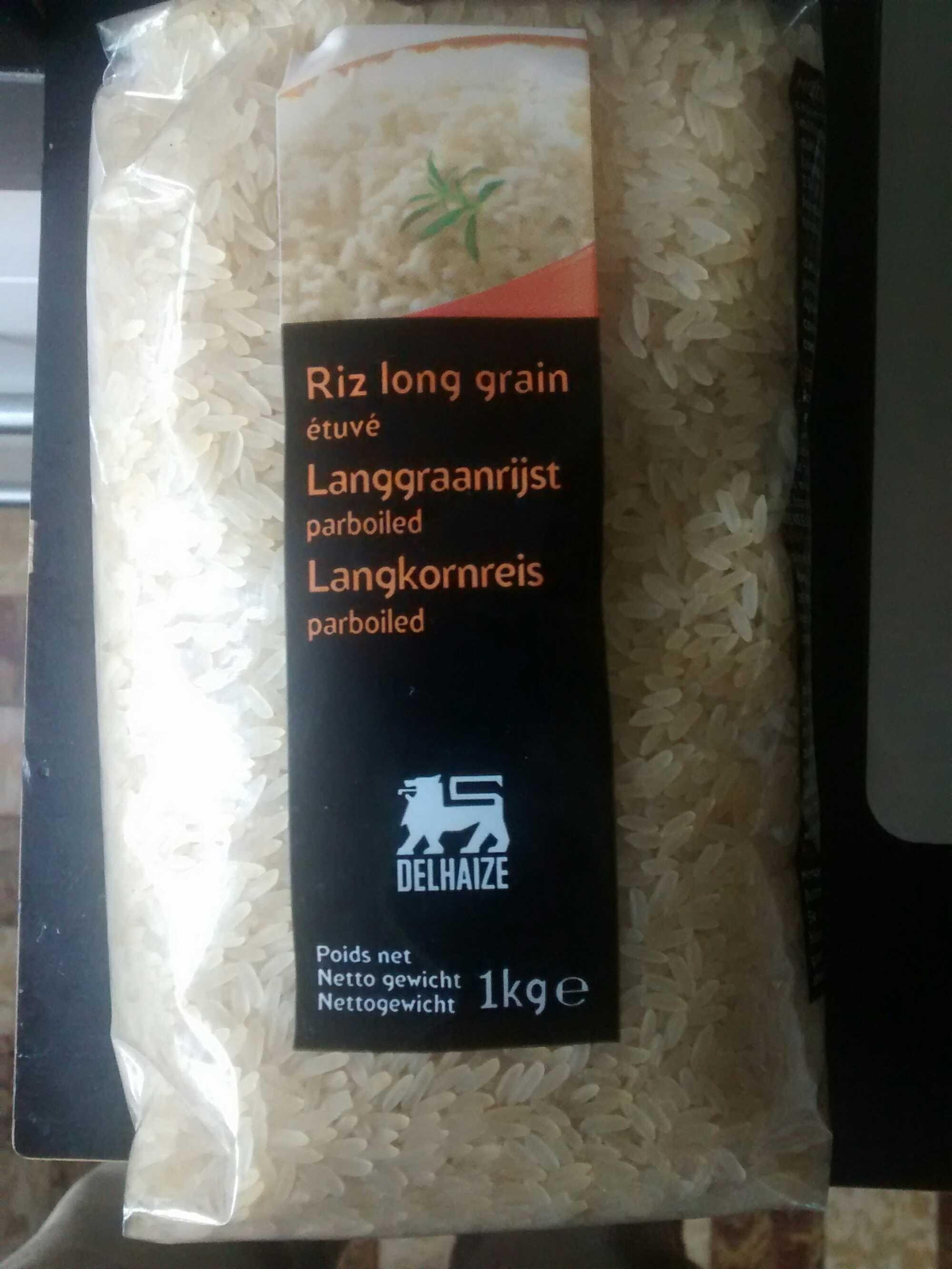 Riz long grain étuvé - Product - fr
