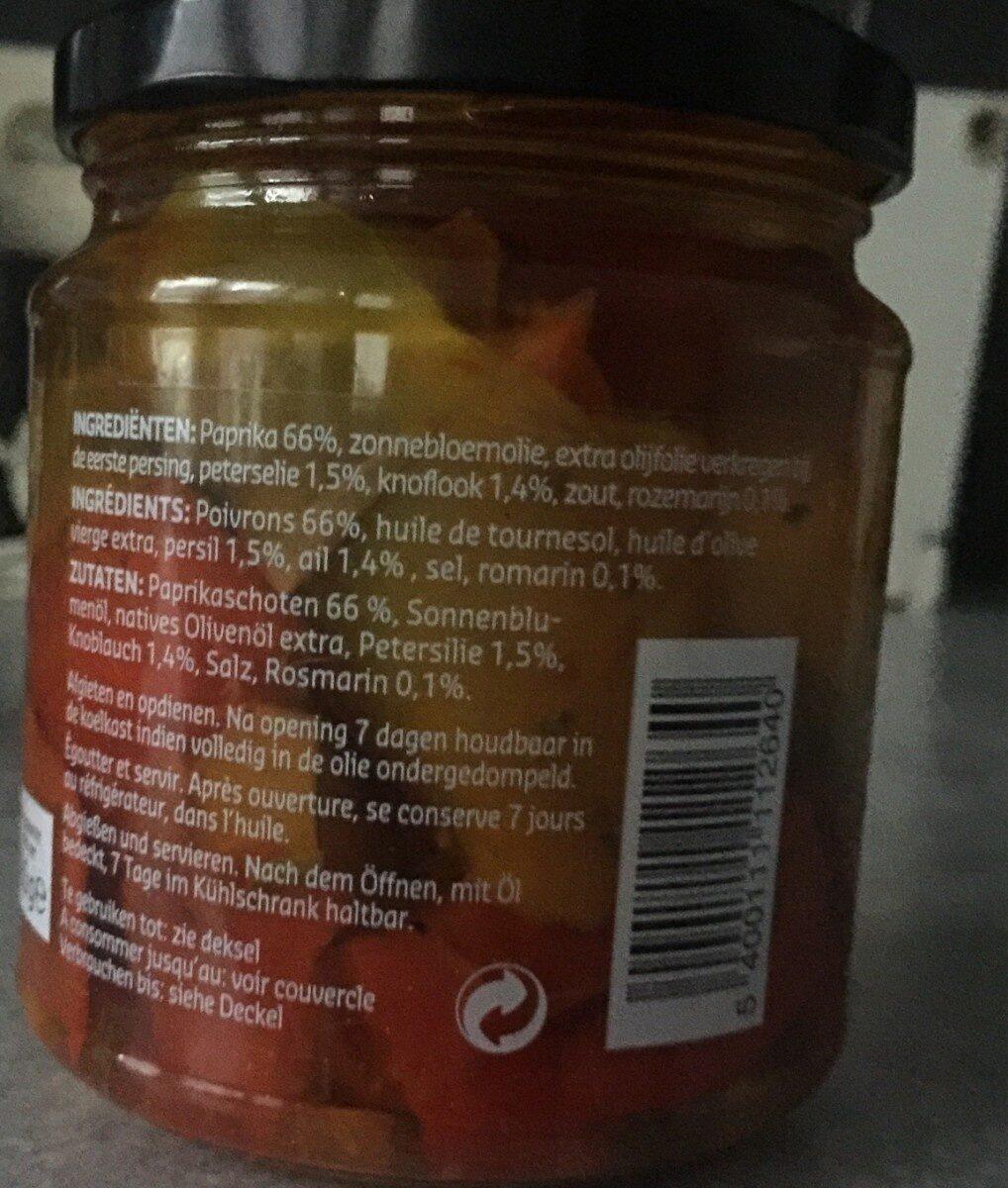 Antipasti - Ingrediënten