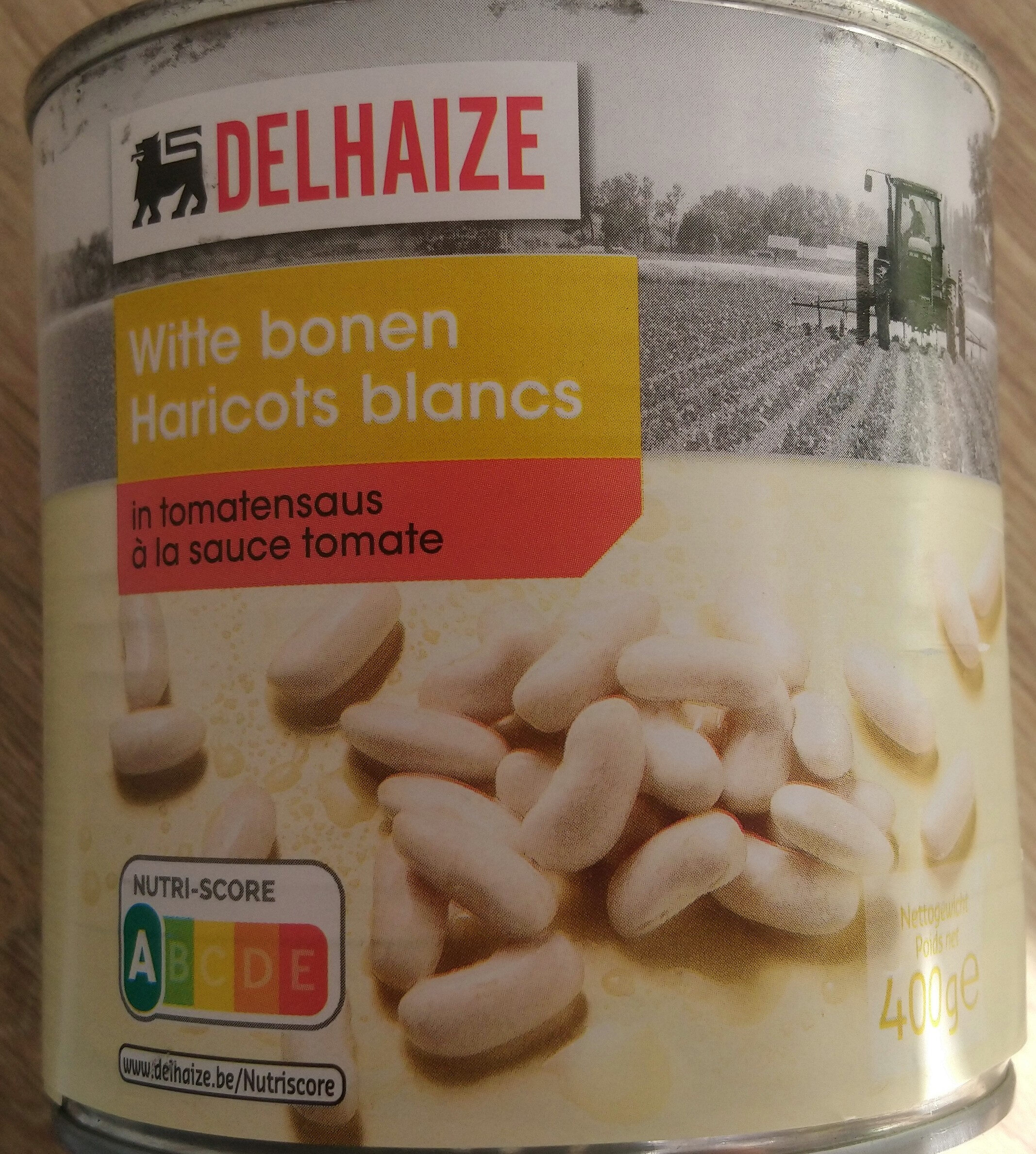 Haricot blanc a la sauce tomate - Product - fr