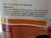 Chair de tomates légumes - Ingrediënten