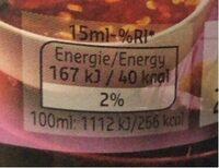 Sweetened Chilli Sauce - Informations nutritionnelles - fr