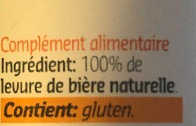 Levure de biere - Ingrediënten - fr