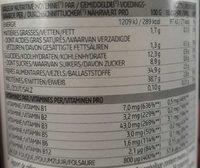 Levure de biere - Voedingswaarden - fr