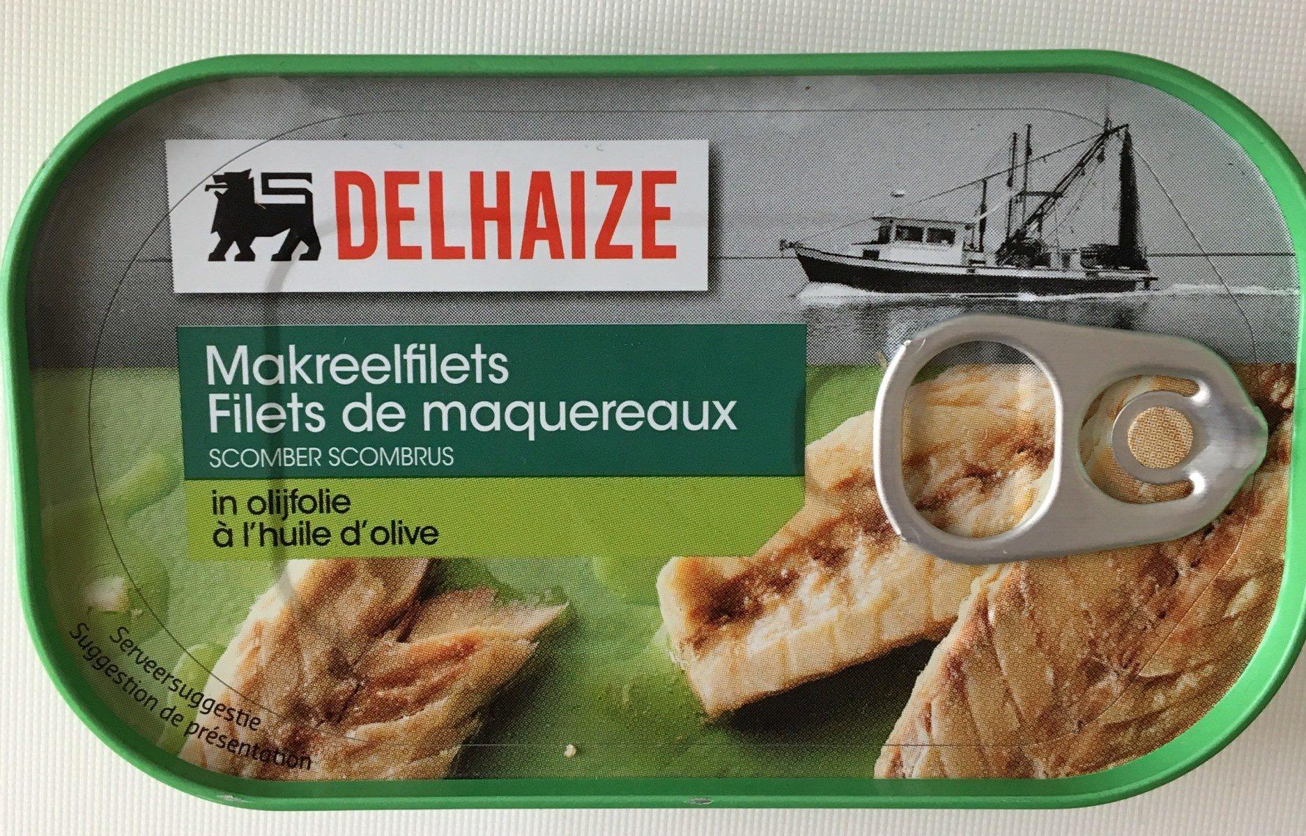 Filets de maquereaux à l'huile d'olive - Product - fr