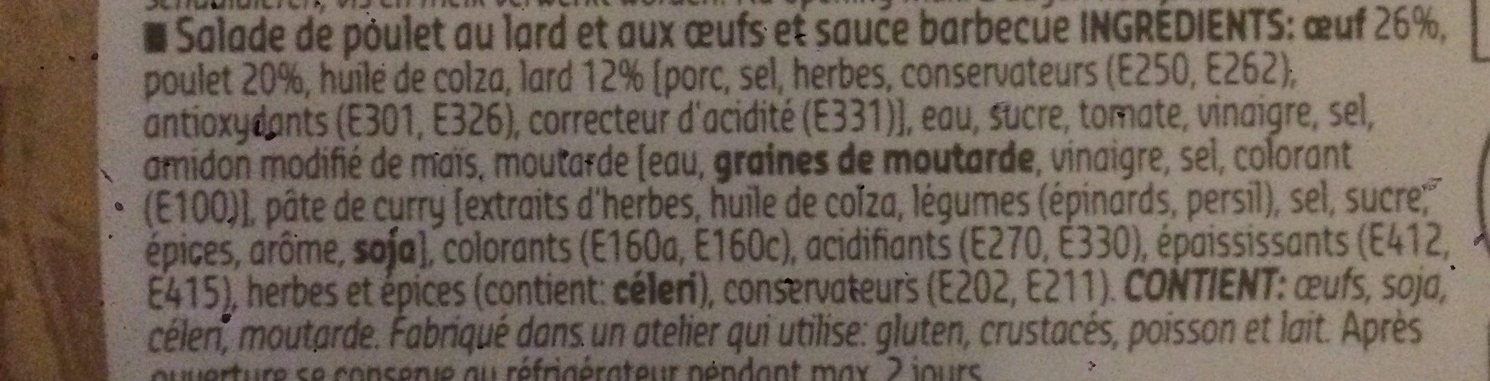 Poulet au lourd croustillant - Ingrédients - fr