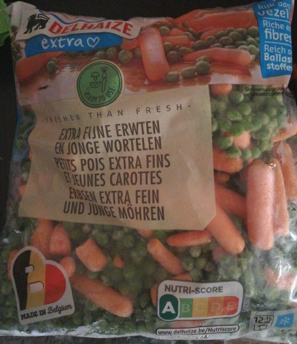 Petits pois extra fins et jeunes carottes - Produit - fr