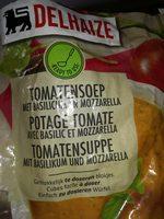 Potage tomate basilic mozzarella - Produit - fr