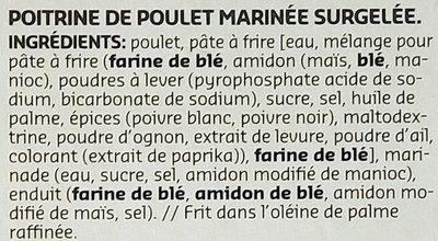 Nuggets de poulet - Ingrediënten - fr