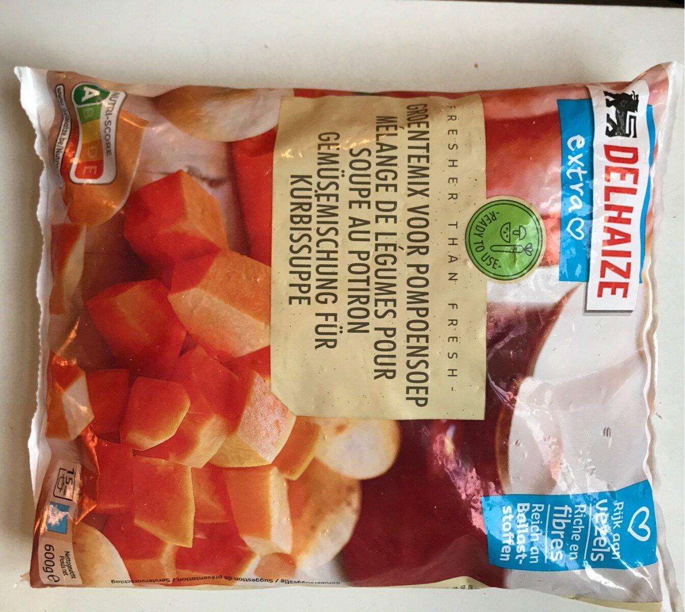 Mélange de légumes pour soupe au potiron - Product
