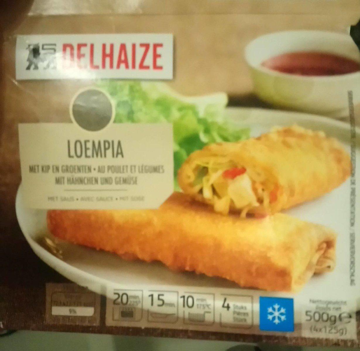 Loempia au poulet et légumes - Produit - fr