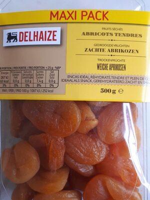 Abricots tendres fruits séchés - Produit - fr