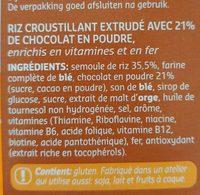 Choco Puffies - Ingrediënten