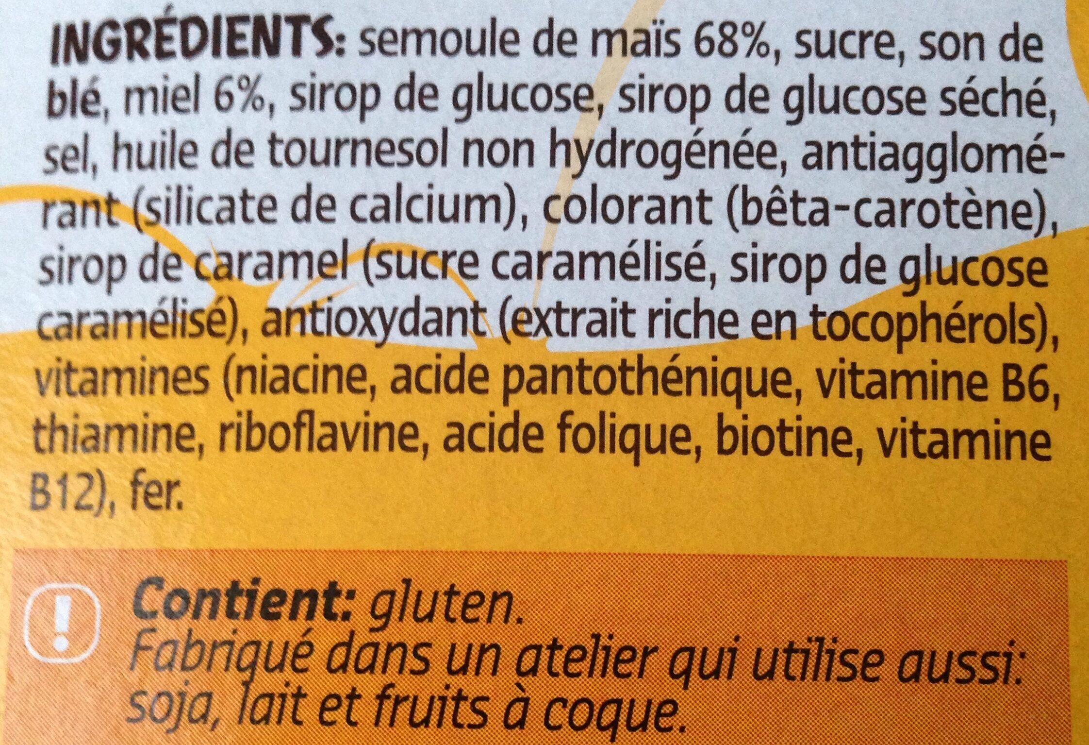 Honey balls - Ingrediënten - fr