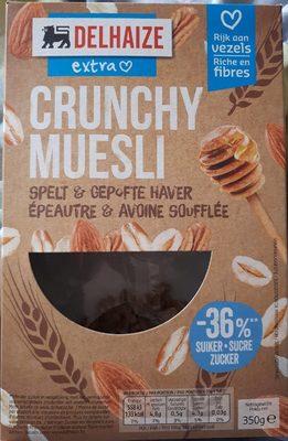 Crunchy Muesli épeautre & avoine soufflée - Product