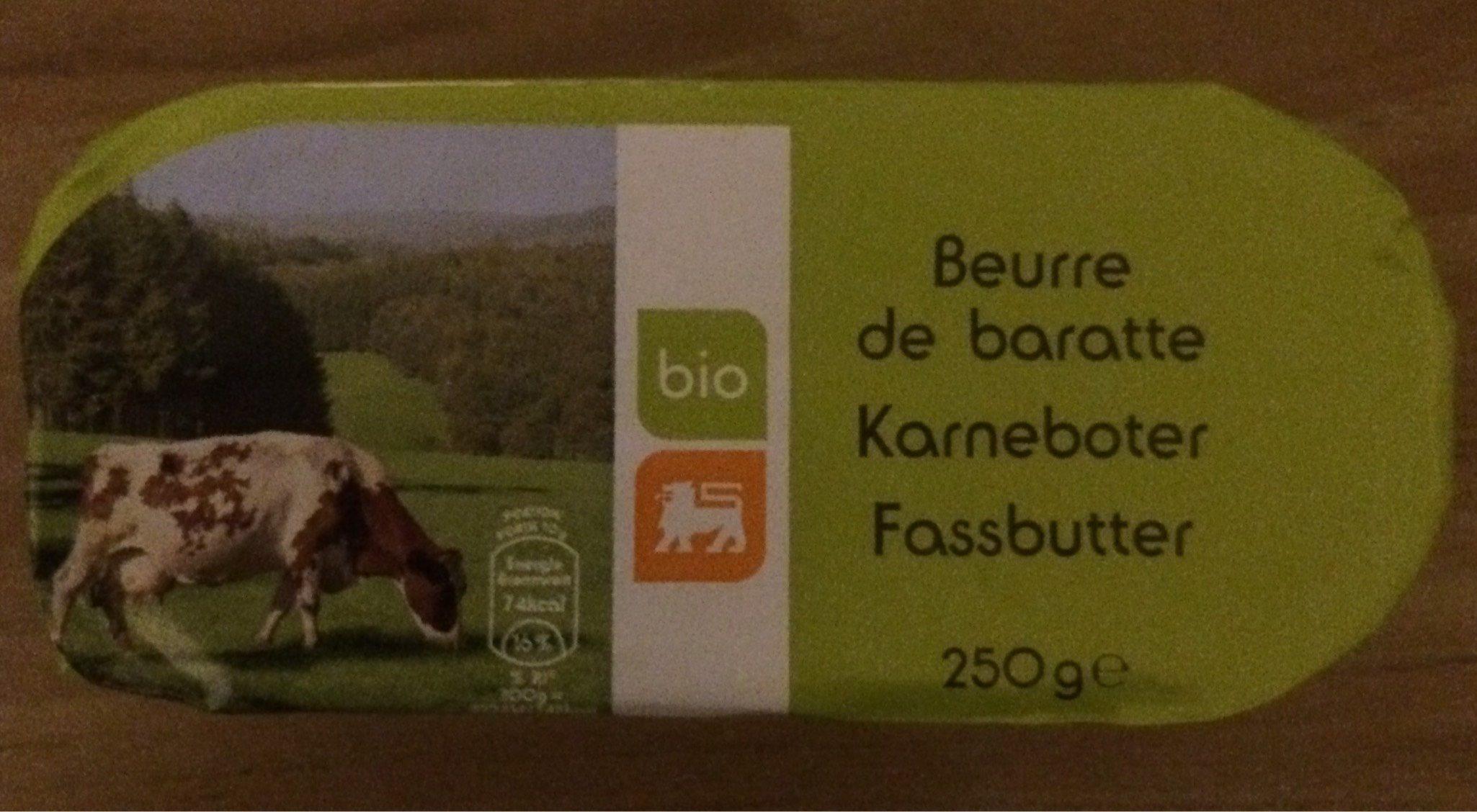 Beurre de Baratte - Produit