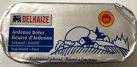 Beurre d'Ardenne baratté - Produit - fr