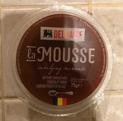 Mousse au chocolat amer - Product