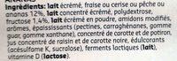 Yaourt Fruits 0% - Ingrediënten - fr