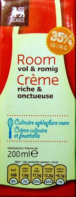 Crème riche et onctueuse - Product