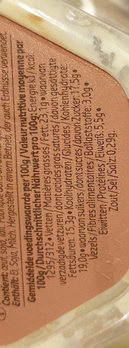 Mousse Chocolat Blanc Et Noir - Voedingswaarden - fr