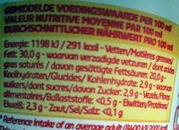 Crème fraîche épaisse - Informations nutritionnelles - fr