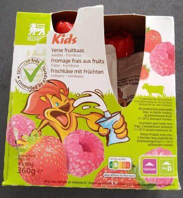 Fromage frais aux fruits  fraise framboise kids - Product - fr