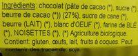 Brownie - Ingrédients
