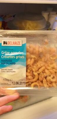 Crevette grises mer du Nord - Voedingswaarden - fr