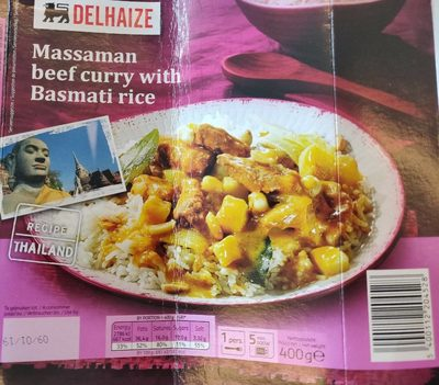 Massa man beef curry with rice - Product