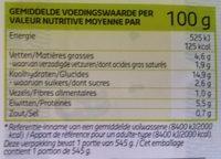 Spaghetti Bolognaise - Voedingswaarden - nl