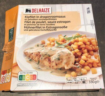Filet de poulet, sauce estragon - Product - fr