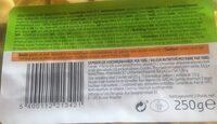 Tortelloni au basilic - Informations nutritionnelles - fr