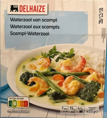 Waterzooi aux scampis - Produit - fr