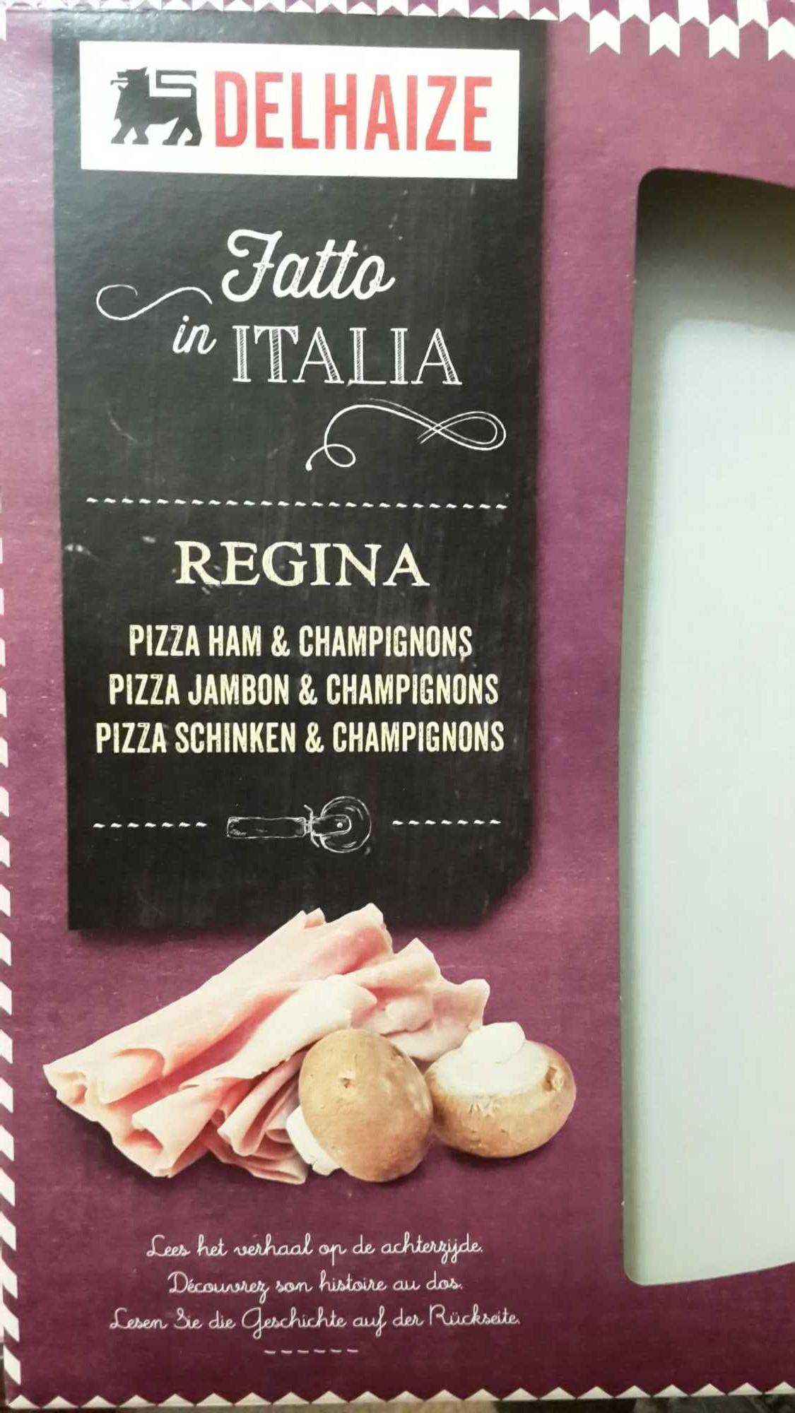 Regina Pizza Jambon & Champignons - Product - fr