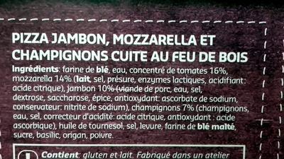 Regina Pizza Jambon & Champignons - Ingrediënten - fr